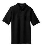 K500P Mens Silk Touch Pocket Polo