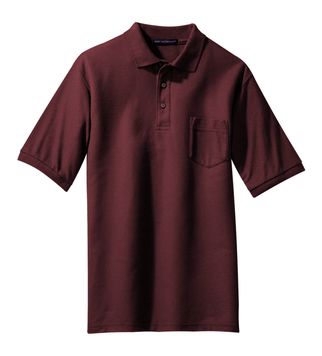 TLK500P Men's Tall Silk Touch Pocket Polo
