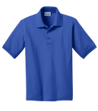KP55Y Youth Jersey Knit Polo