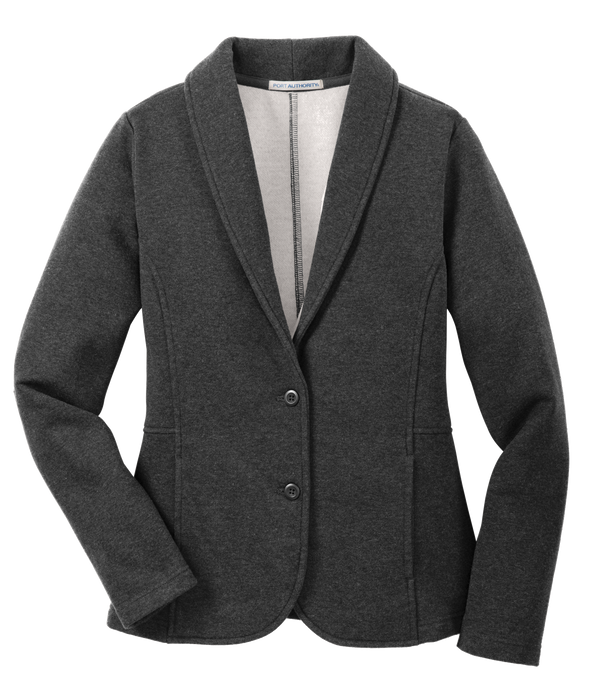 L298 Ladies Fleece Blazer