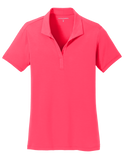 L568 Ladies Cotton Touch Performance Polo