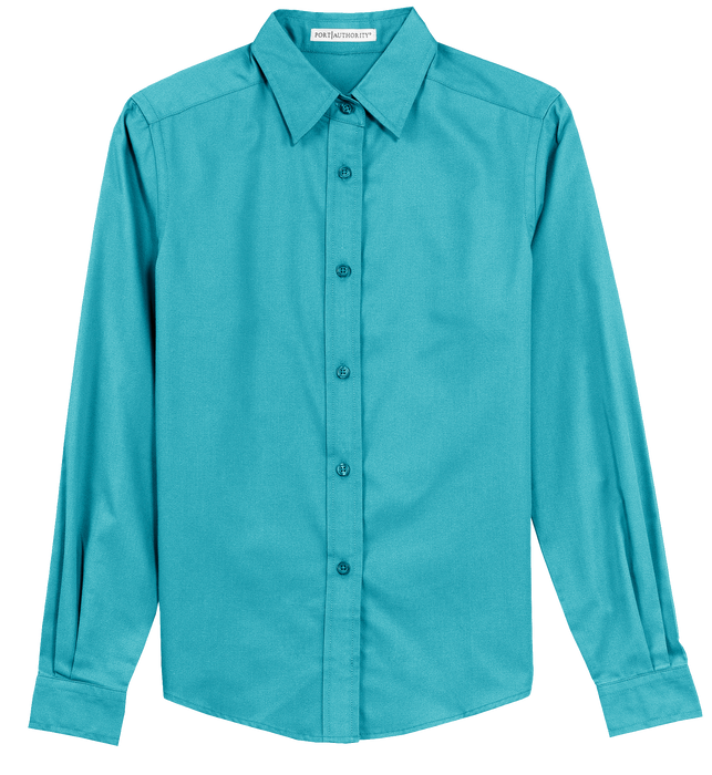 L608 Ladies Long Sleeve Easy Care Shirt