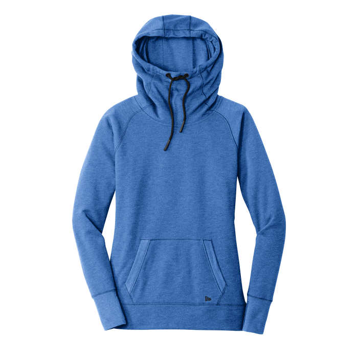 LNEA510 Ladies Tri-Blend Fleece Pullover Hoodie