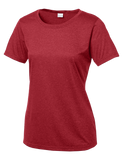 LST360 Ladies Heather Contender Scoop Neck Tee