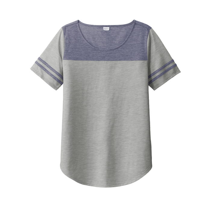 LST403 Ladies PosiCharge Wicking Fan Tee