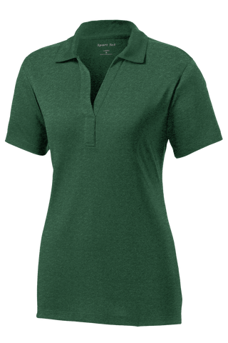 LST660 Ladies Heather Contender Polo
