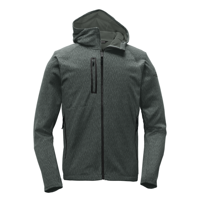 NF0A3LHH Mens Canyon Flats Fleece Hooded Jacket