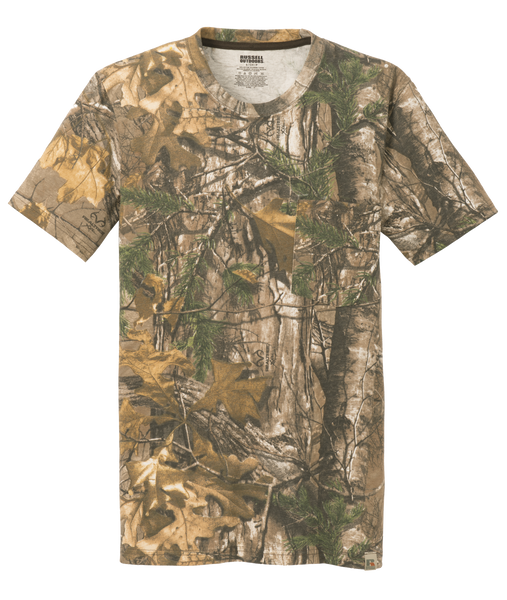 S021r explorer camouflage pocket tee shilling sales inc for Gildan camouflage t shirts
