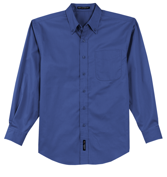TLS608 Men's Tall Long Sleeve Easy Care Shirt