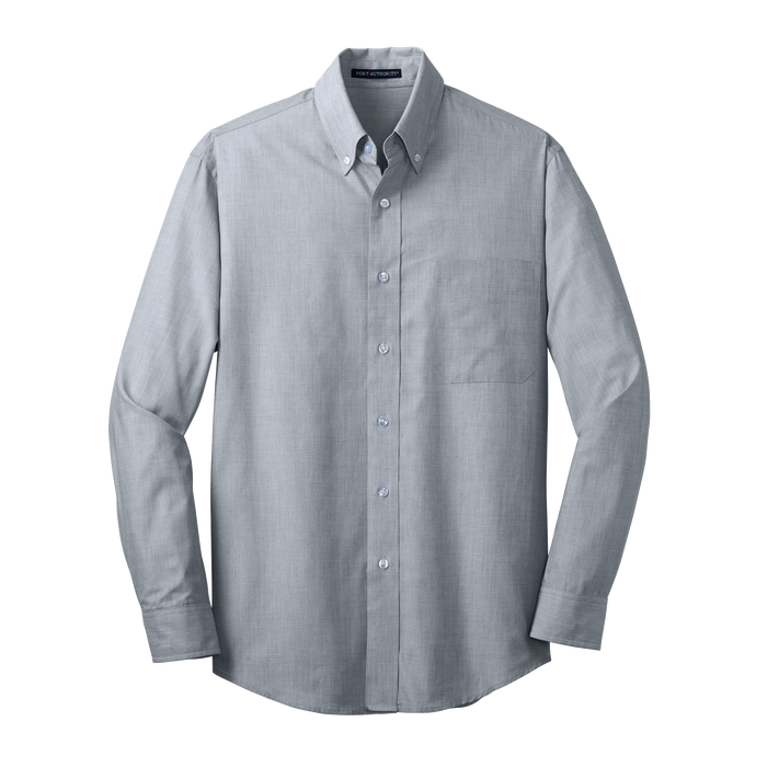 S640 Mens Crosshatch Easy Care Shirt