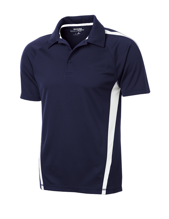 ST685 Mens Micro-Mesh Colorblock Polo