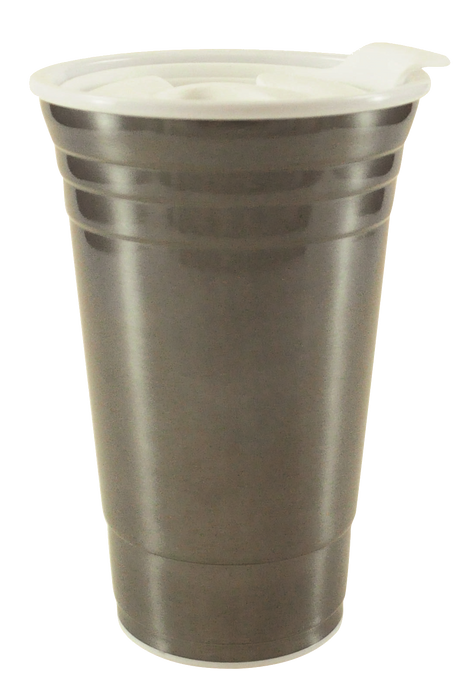 SVNUNOCP 16 oz. Stainless Vintage Uno Cup