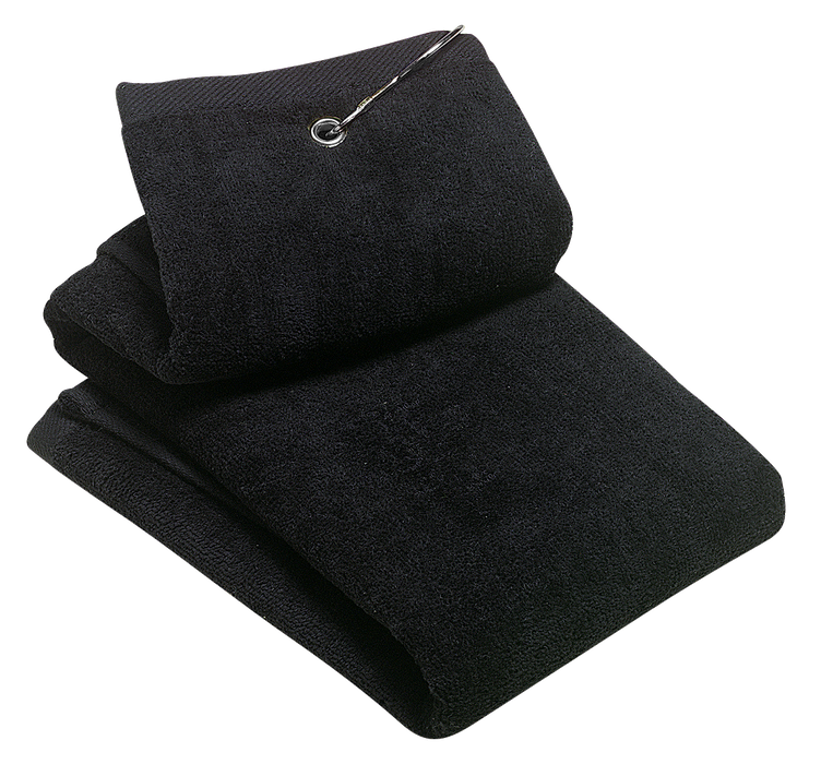 TW50 Grommeted Tri-fold Golf Towel