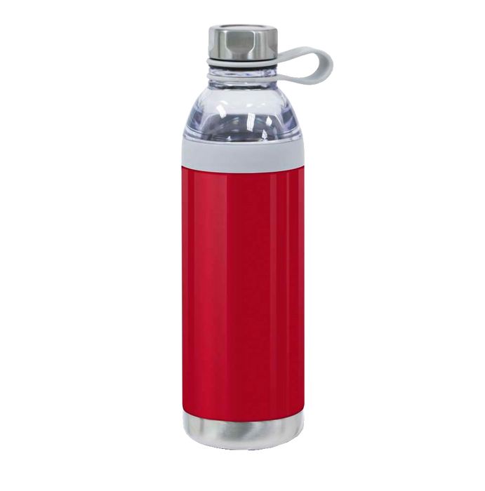 WB8002 Dual Opening 20 oz Stainless Steel Water Bottle