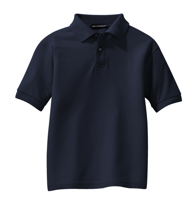 Y500 Youth Silk Touch Polo