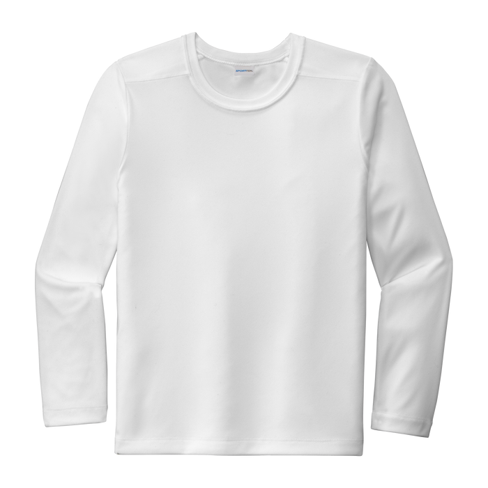 YST420LS Youth Long Sleeve Posi-UV Pro Tee