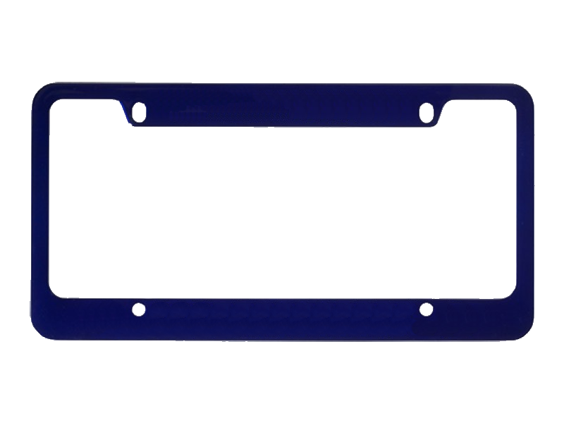 16001-01 Colored License Frame
