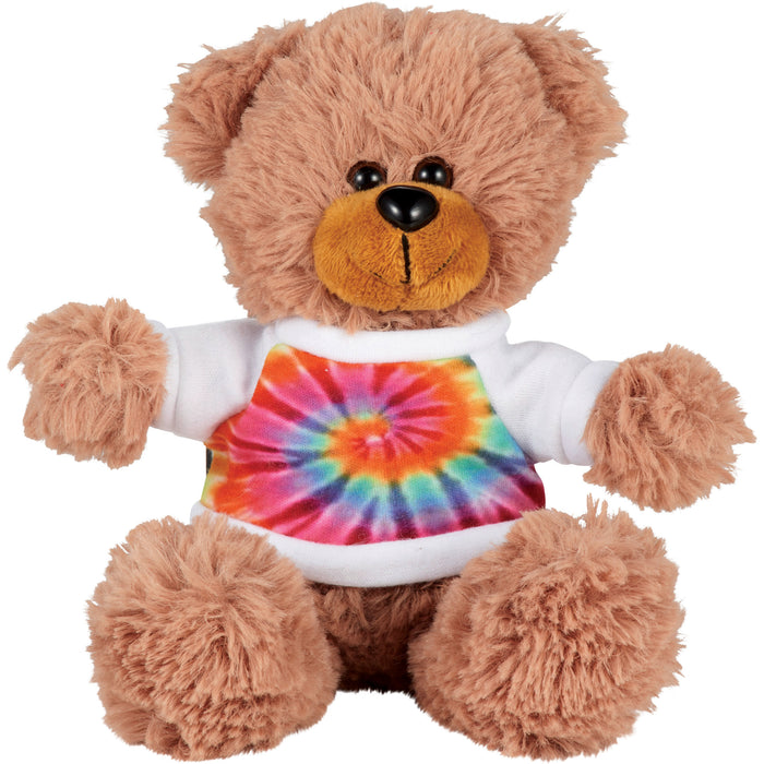 "6"" Plush Animal with Shirt"