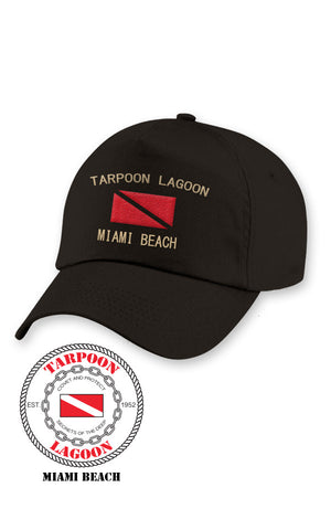 Tarpoon Cap Black