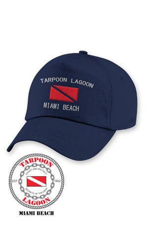 Tarpoon Cap Dark Navy