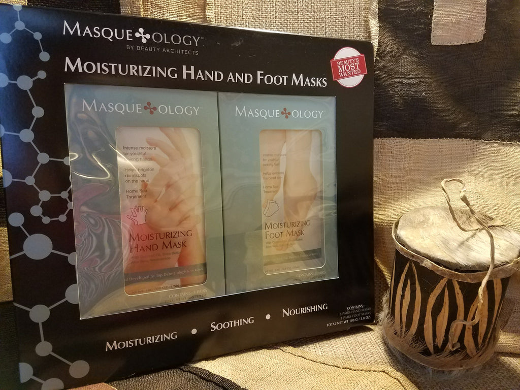 Masqueology Moisturizing Hand and Foot Masks