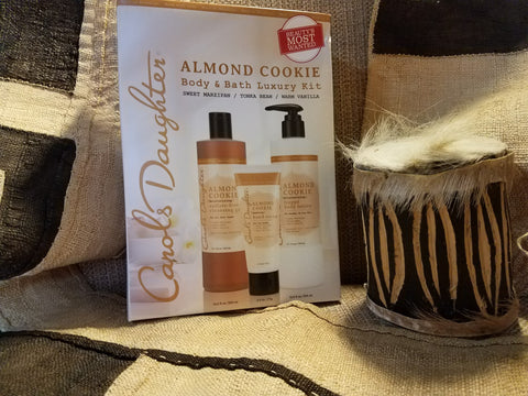 Carol's Daughter Almond Cookie Body & Bath Luxury Kit