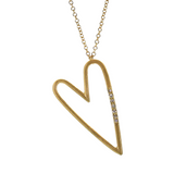 Gold & Diamond All My Love Necklace