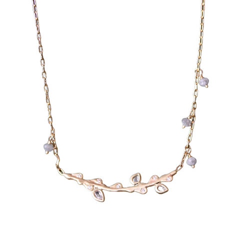 Diamond Branch Necklace