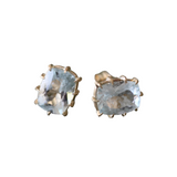 Aquamarine in Prong Setting Earrings