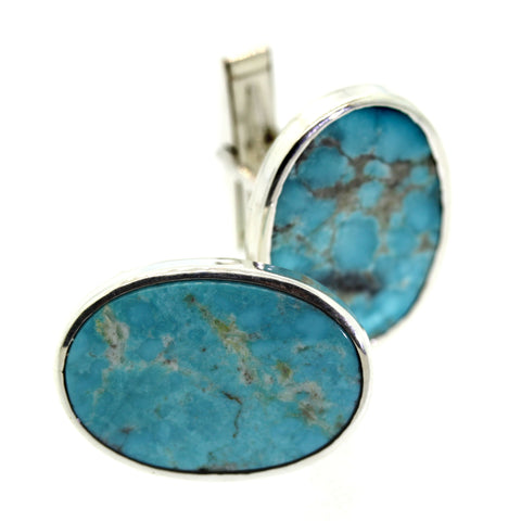 Turquoise Cuff Links - Rebecca Lankford Designs - Houston, TX