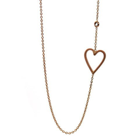 Exaggerated Heart Necklace