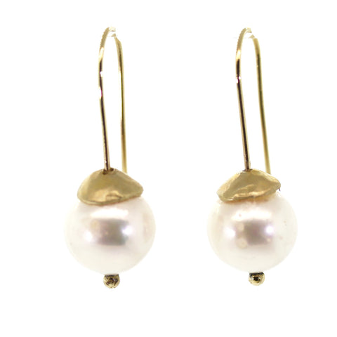 Chunky Pearl Earrings -Rebecca Lankford Designs - Houston, TX
