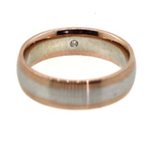 wedding bands, rose gold wedding bands, matching wedding bands, rebecca lankford designs