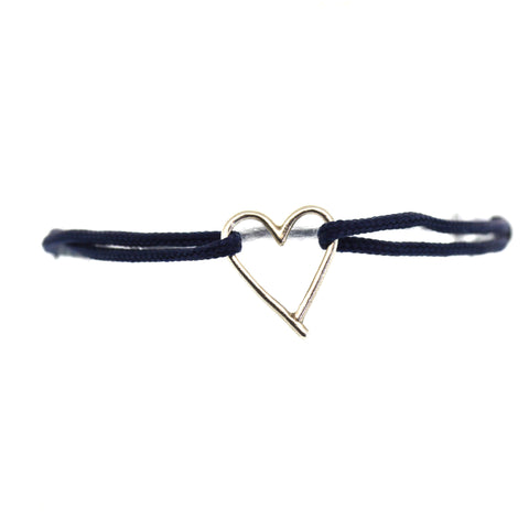 heart bracelet to raise awareness for human trafficking