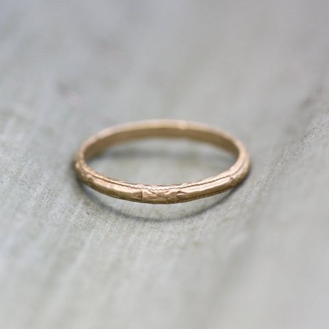 Gold Antique Band