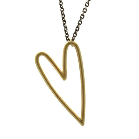 Gold and Silver All My Love Necklace