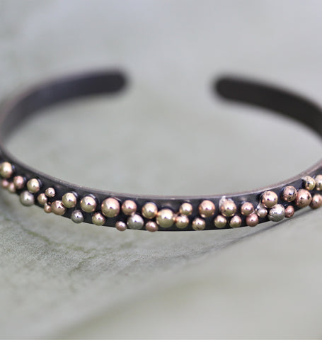 Mixed Stud Thick Cuff