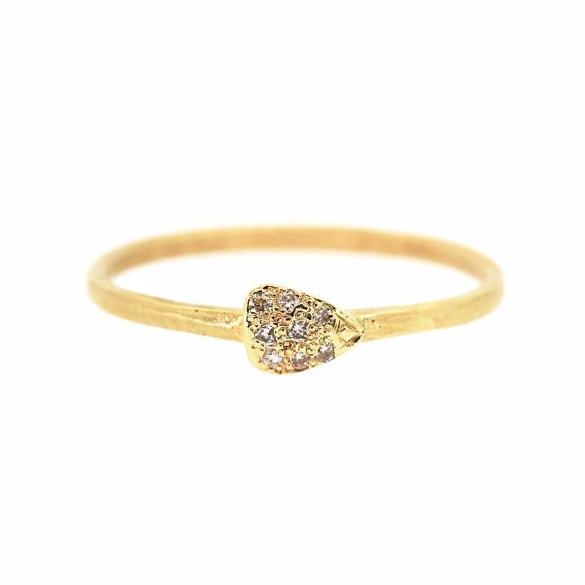 Pave Diamond Ring - Rebecca Lankford Designs
