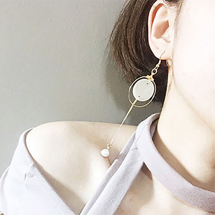(Pre-Order) Korean Style Asymmetrical Earrings 11