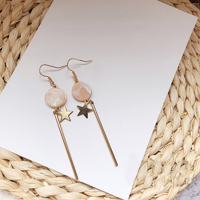 (Pre-Order) Beige Asymmetrical Earrings 12