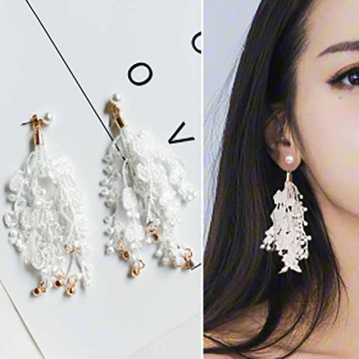 (Pre-Order) Korean Style Asymmetrical Earrings 15