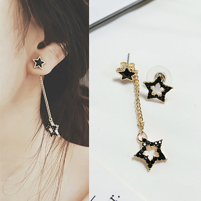 (Pre-Order) Korean Style Asymmetrical Earrings 17