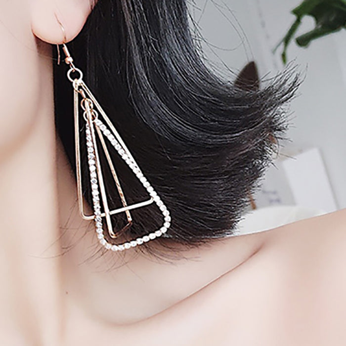 (Pre-Order) Korean Style Temperament Dangle Earrings 17