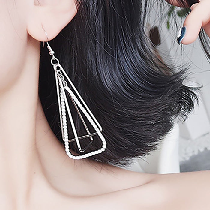 (Pre-Order) Korean Style Temperament Dangle Earrings 18
