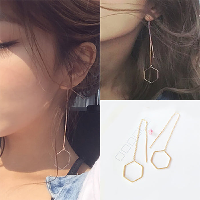 (Pre-Order) Korean Style Asymmetrical Earrings 2