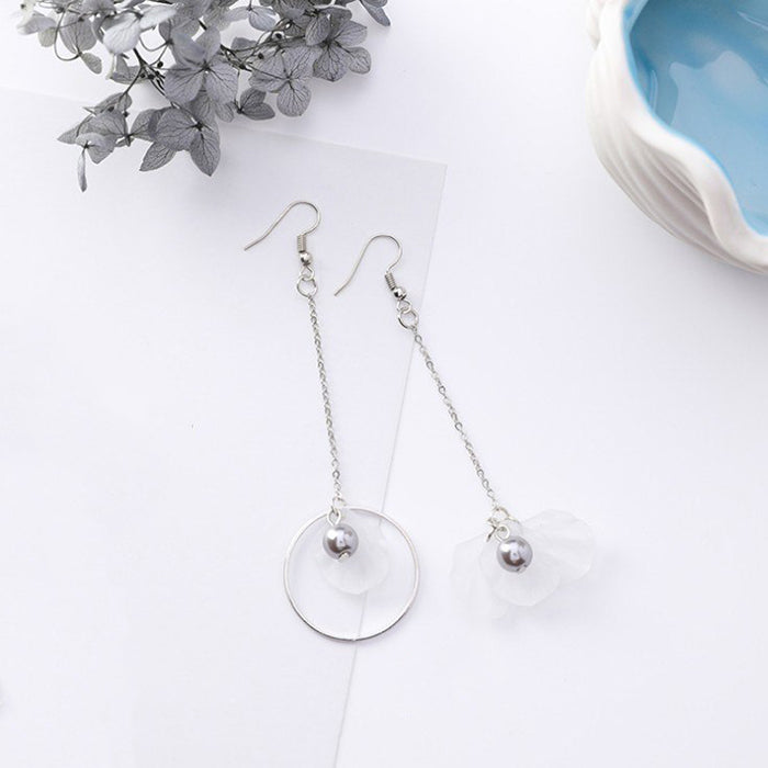 (Pre-Order) Korean Grey Temperament Geometric Earrings 36
