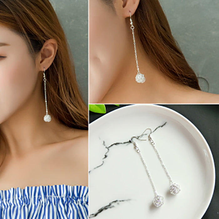 (Pre-Order) Korean Style Asymmetrical Earrings 37