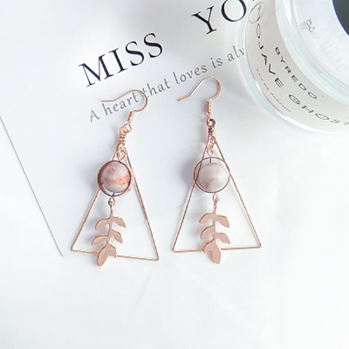 (Pre-Order) Korean Style Asymmetrical Earrings 3