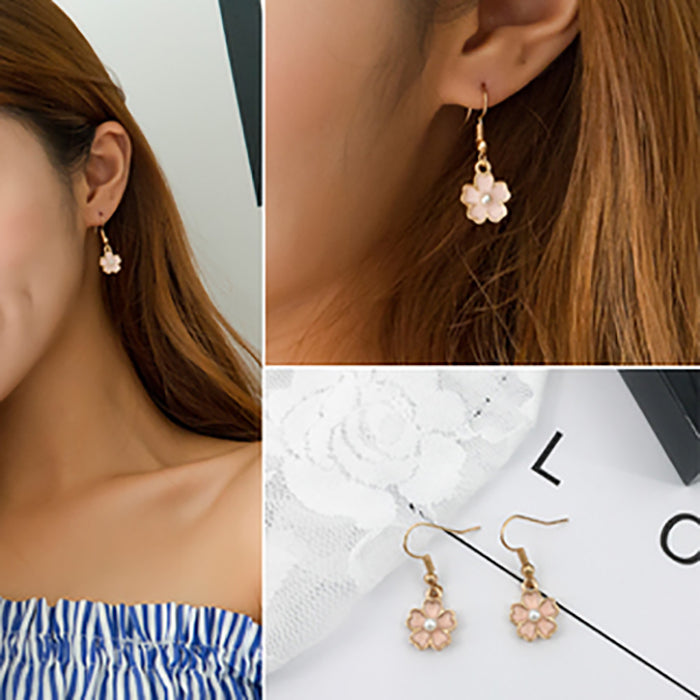 (Pre-Order) Korean Style Asymmetrical Earrings 41