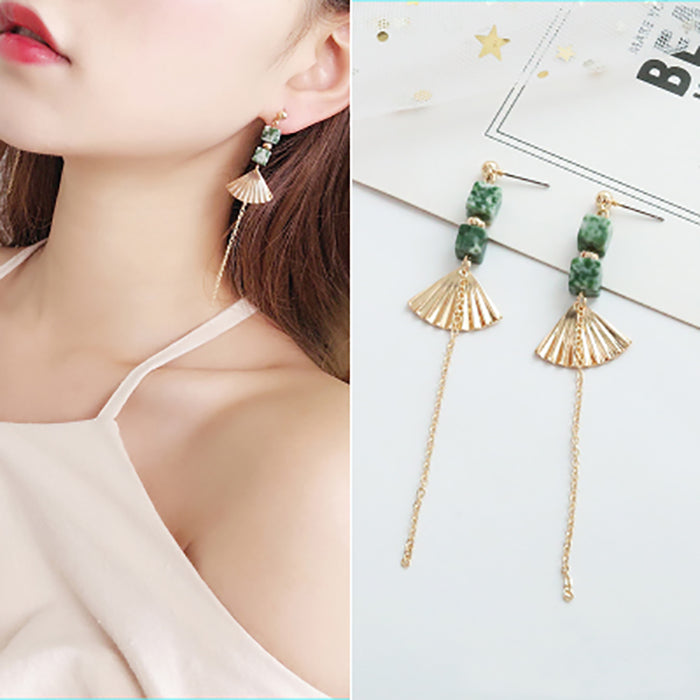 (Pre-Order) Korean Style Asymmetrical Earrings 42